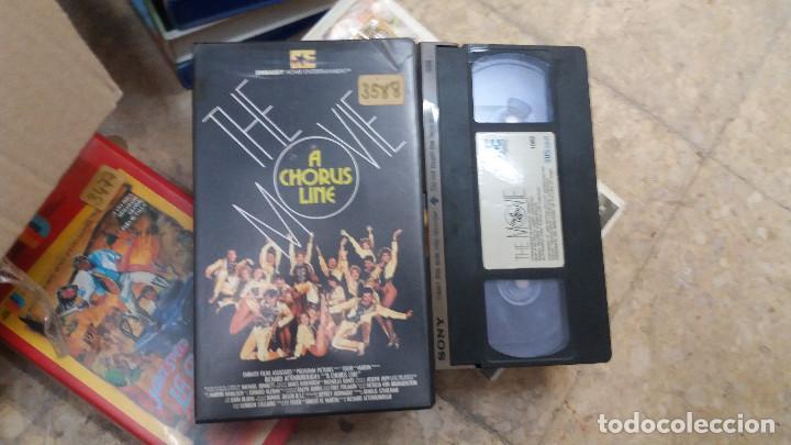 A CHORUS LINE- THE MOVIE- VHS- MICHAEL DOUGLAS. JANET JONES. AUDREY LANDERS (Cine - Películas - VHS)
