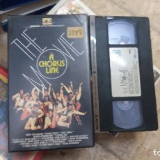 Cine: A CHORUS LINE- THE MOVIE- VHS- MICHAEL DOUGLAS. JANET JONES. AUDREY LANDERS. Lote 61655668