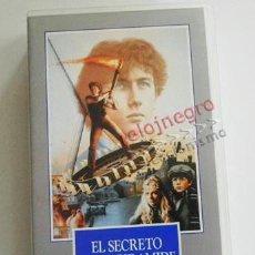 Cine: EL SECRETO DE LA PIRÁMIDE - PELÍCULA SUSPENSE ACCIÓN - SHERLOCK HOLMES - STEVEN SPIELBERG - VHS. Lote 62097700