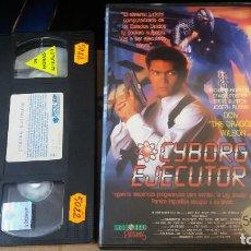 Cine: CYBORG EJECUTOR- VHS- DON DRAGON WILSON. Lote 62310664