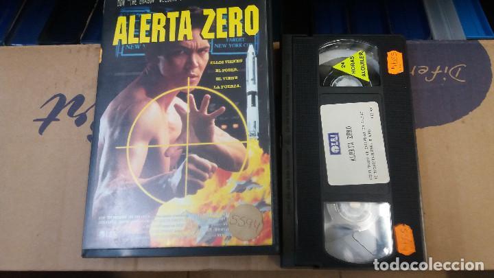 ALERTA ZERO- VHS- DON THE DRAGON WILSON (UNICA EN TC) (Cine - Películas - VHS)