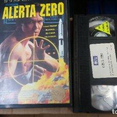 Cine: ALERTA ZERO- VHS- DON THE DRAGON WILSON (UNICA EN TC). Lote 62311244