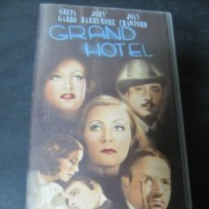 Cine: VHS VIDEO GRAND HOTEL GRETA GARBO JOAN CRAWFORD. Lote 62387964