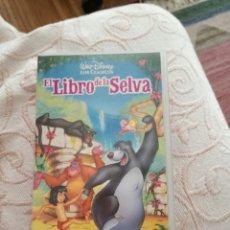 Cine: PELÍCULA DE DISNEY EL LIBRO DE LA SELVA VHS ( EDICIÓN LIMITADA). Lote 62447279