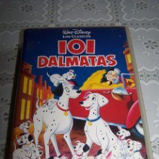 Cine: VHS DISNEY. 101 DÁLMATAS.. Lote 62454728