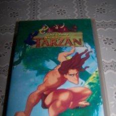 Cine: VHS DISNEY. TARZÁN.. Lote 62457356