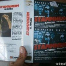 Cine: STAMMHIM EL PROCESO-VHS. Lote 62583176