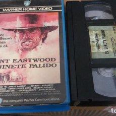 Cine: EL JINETE PALIDO- VHS- 1ª EDICION - CLINT EASTWOOD. Lote 62632344