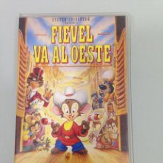 Cine: VHS, FIEVEL VA AL OESTE, STEVEN SPIELBERG, 75 MIN.. Lote 62888556