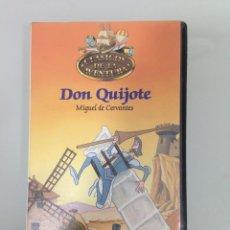 Cine: VHS, 26 - DON QUIJOTE, CLASICOS DE LA AVENTURA, PLANETA-AGOSTINI. Lote 62895004
