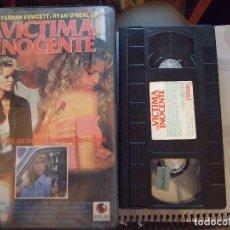 Cine: LA VICTIMA INOCENTE - DAVID GREENE - FARRAH FAWCETT , RYAN O'NEAL - RECORD VISION 1990. Lote 94597174