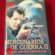 Cine: MERCENARIOS DE GUERRA II VHS. Lote 63274600