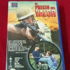Cine: EL PRECIO DEL VALOR VHS. Lote 63274612
