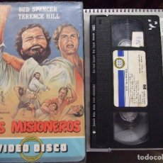 Cine: DOS MISIONEROS - FRANCO ROSSI - BUD SPENCER , TERENCE HILL - VIDEO DISCO 1984. Lote 130674049