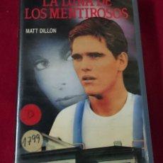 Cine: LA LUNA DE LOS MENTIROSOS VHS. Lote 63446332