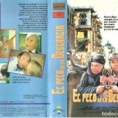 Cine: VHS EL PELO DE LA DESGRACIA,SERGIO MARTINO LINO BANFI - ITALIANADA COM-SEXY TRASH REGALO DESCRIPCION. Lote 63549248