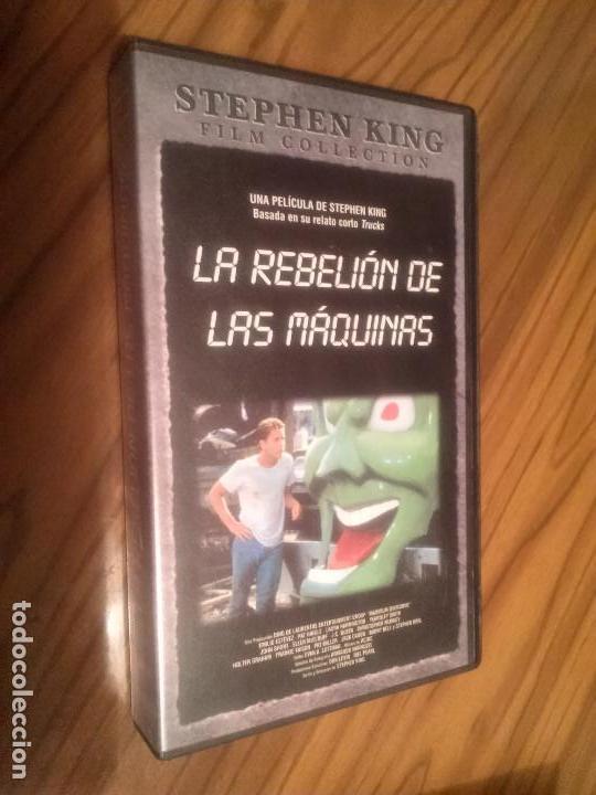 LA REBELIÓN DE LAS MAQUINAS. STEPHEN KING. VHS. SIN PROBAR. BUEN ESTADO. RARA (Cine - Películas - VHS)