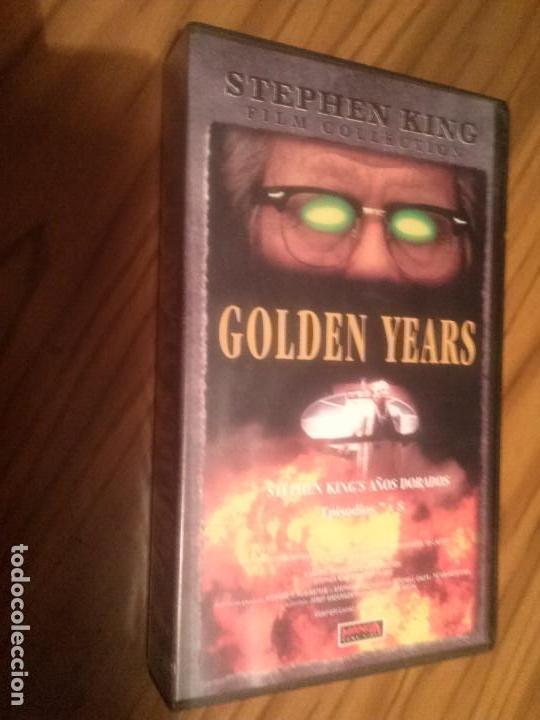 GOLDEN YEARS. EPISODIOS 7 Y 8. SERIE DE STEPHEN KING. BUEN ESTADO. NO TESTADO (Cine - Películas - VHS)
