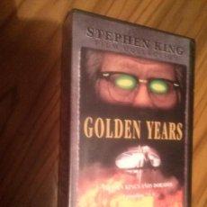 Cine: GOLDEN YEARS. EPISODIOS 7 Y 8. SERIE DE STEPHEN KING. BUEN ESTADO. NO TESTADO. Lote 64067199