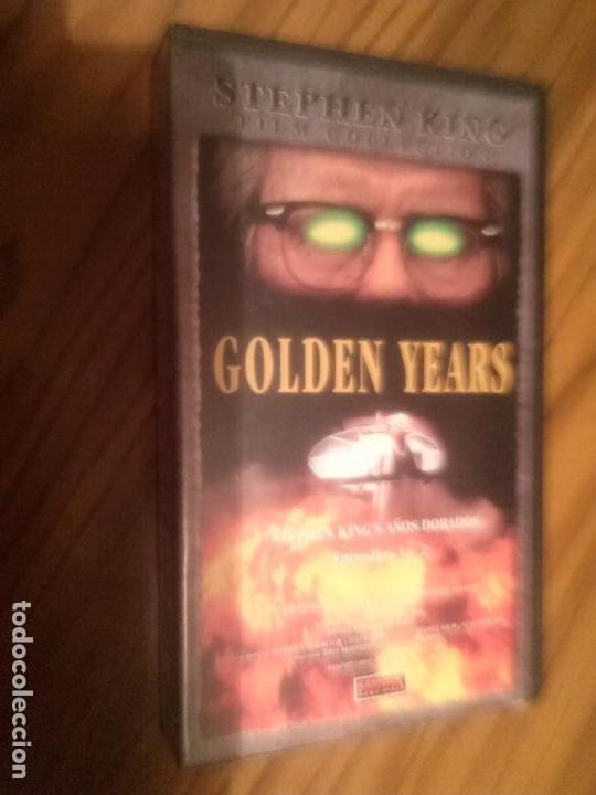 Cine: GOLDEN YEARS. EPISODIOS 1 Y 2. SERIE DE STEPHEN KING. BUEN ESTADO. NO TESTADO - Foto 1 - 64067275
