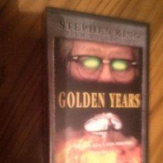 Cine: GOLDEN YEARS. EPISODIOS 1 Y 2. SERIE DE STEPHEN KING. BUEN ESTADO. NO TESTADO. Lote 64067275