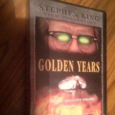 Cine: GOLDEN YEARS. EPISODIOS 3 Y 4. SERIE DE STEPHEN KING. BUEN ESTADO. NO TESTADO. Lote 64067279