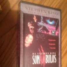 Cine: SONAMBULOS. STEPHEN KING. . BUEN ESTADO. VHS. NO TESTADO. Lote 64067423