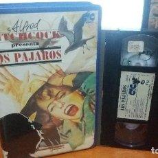 Cine: LOS PAJAROS- 1ª EDICION CIC VIDEO- ALFRED HITCHCOCK (UNICA EDICION) . Lote 64101335