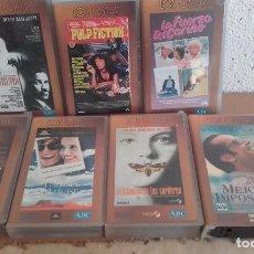 Cine: LOTE DE 7 CINTAS VHS- COLECCION ABC- LOS OSCAR. Lote 64199879