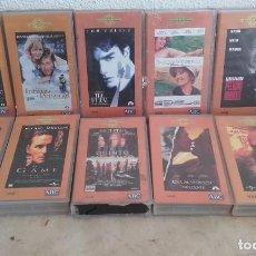 Cine: LOTE DE 10 CINTAS VHS, COLECCIÓN ABC, GRANDES TITULOS. Lote 64200859