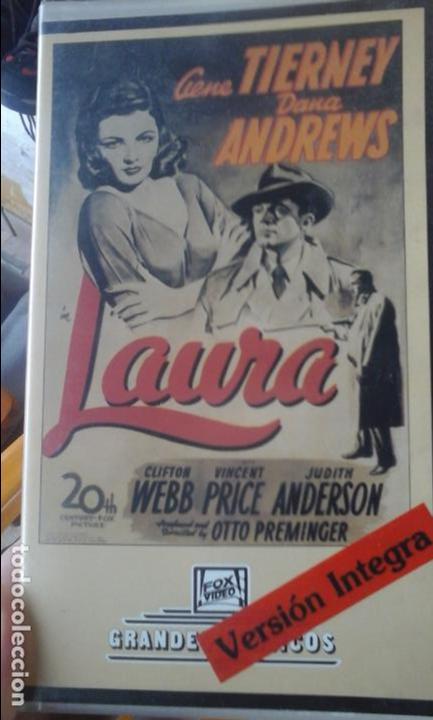 LAURA (Cine - Películas - VHS)