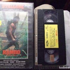 Cine: RAMBO , ACORRALADO 2 - GEORGE COSMATOS - SYLVESTER STALLONE , RICHARD CRENNA - IZARO 1986 . Lote 64376451