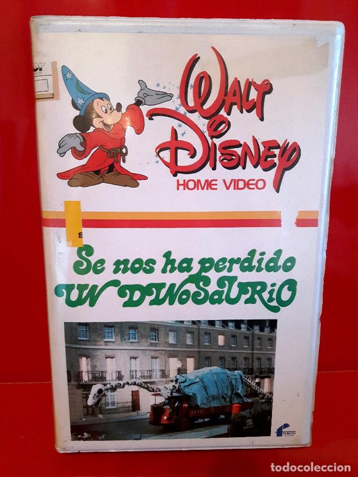 SE NOS HA PERDIDO UN DINOSAURIO (1975) - WALT DISNEY 1ª Edic., usado segunda mano