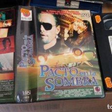Cine: PACTO EN LA SOMBRA- VHS- RICHARD FRIEDMAN DEREK RYDALL 1988- DESCATALOGADA. Lote 64416519