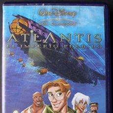 Cine: WALT DISNEY - ATLANTIS, EL IMPERIO PERDIDO. Lote 28725713