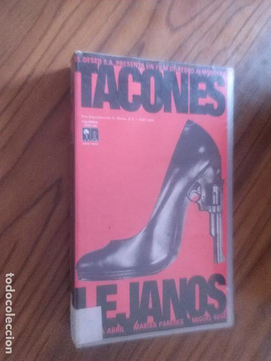 TACONES LEJANOS. VHS. PEDRO ALMODÓVAR. BUEN ESTADO. SIN TESTAR. (Cine - Películas - VHS)