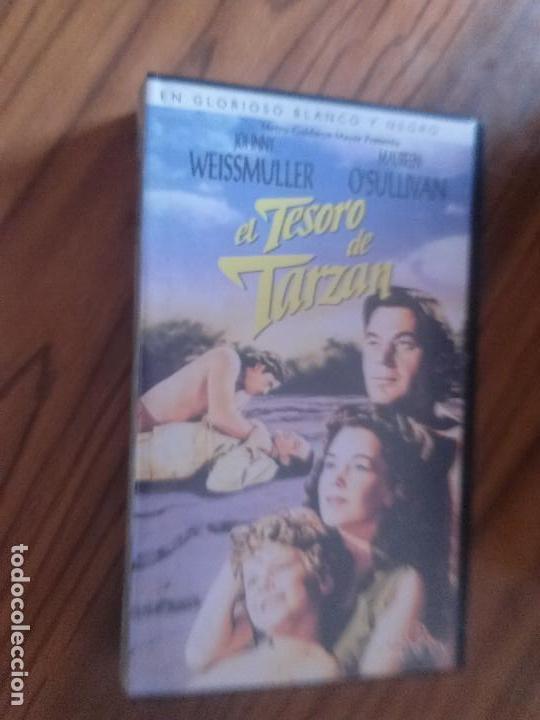 EL TESORO DE TARZAN. JOHNNY WEISSMULLER. MAUREEN O´SULLIVAN. BUEN ESTADO. NO TESTADA. (Cine - Películas - VHS)