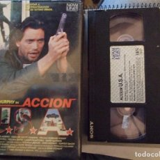 Cine: ACCION USA - JOHN STEWART - BARRI MURPHY , GREGORY SCOTT - NEW LINE 1990. Lote 180179087