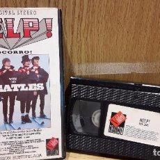 Cine: HELP ! WITH THE BEATLES. VERSIÓN SUBTITULADA. VHS / VIDEO COLECCION - 1990 / BUENA CALIDAD.. Lote 65886330