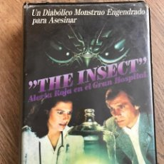 Cine: PELÍCULA VHS THE INSECT. Lote 66032950
