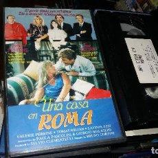 Cine: UNA CASA EN ROMA- VHS- TOMAS MILIAN. Lote 66778610