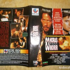 Cine: ((PELICULA-VHS))-83 HORAS PARA MORIR.. Lote 67392625