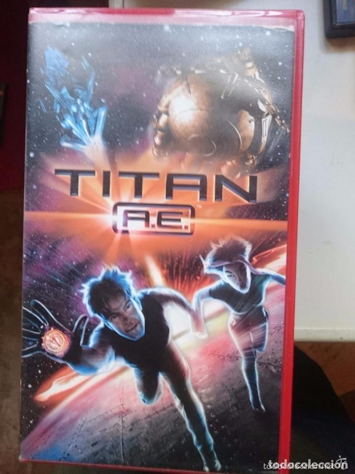 VHS DIBUJOS TITAN AE (Cine - Películas - VHS)