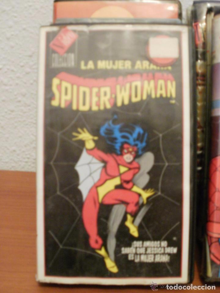 LA MUJER ARAÑA - SPIDERWOMAN - CINTA EN MAL ESTADO (Cine - Películas - VHS)