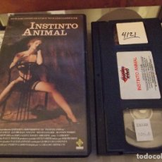 Cine: INSTINTO ANIMAL - GREGORY HIPPOLYTE - MAXWELL CAULFIELD , SHANNON WHIRRY - GARDEN 1992. Lote 67871717