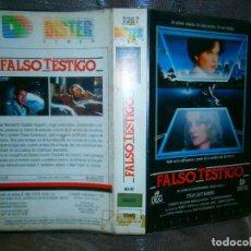 Cine: ((PELICULA-VHS))-FALSO TESTIGO. Lote 68097305