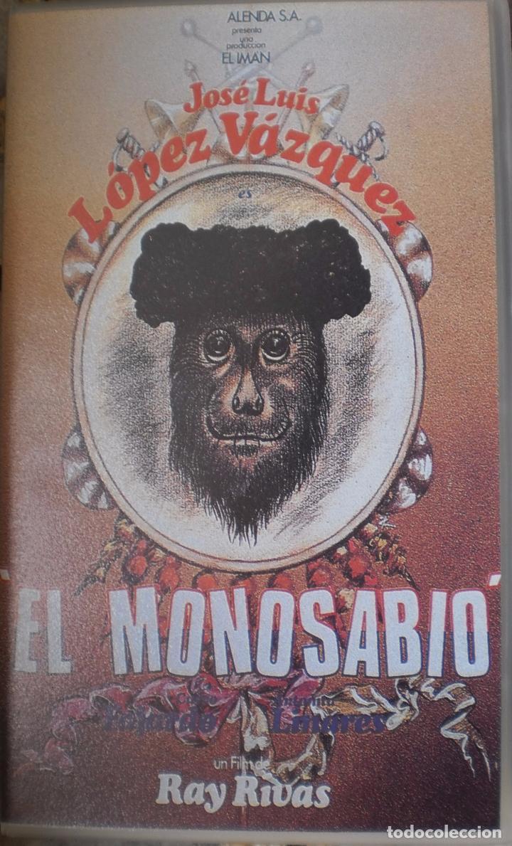 EL MONOSABIO (1977) VHS (Cine - Películas - VHS)