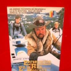 Cine: PERSECUCION EN LA ALTA MONTAÑA (1983) - ROBERT CONRAD. UNICA - JOSE FRADE. Lote 68443261
