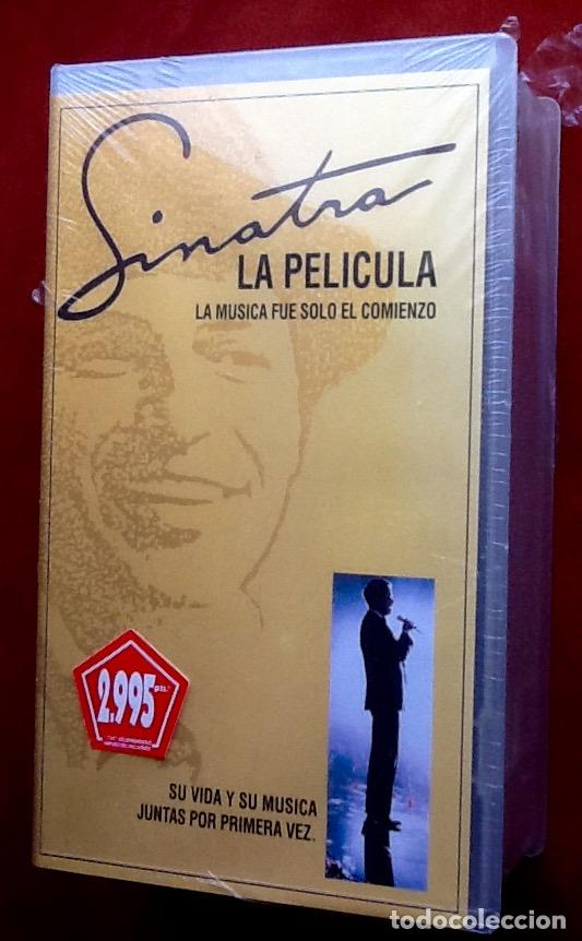 SINATRA. LA PELICULA. 2 PELICULAS VHS. EDICION ESPECIAL PRECINTADA. EL ENVIO ESTA INCLUIDO. (Cine - Películas - VHS)