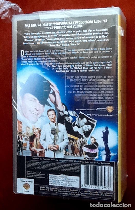 Cine: SINATRA. LA PELICULA. 2 PELICULAS VHS. EDICION ESPECIAL PRECINTADA. EL ENVIO ESTA INCLUIDO. - Foto 3 - 68555777